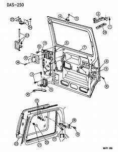 4673202 - Genuine Dodge Hinge-assy