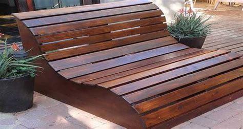 fabriquer  banc de jardin en bois  vernir ou  peindre