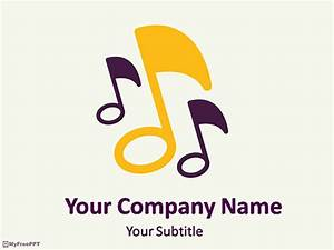 free music notes powerpoint templates myfreepptcom With ppt music templates free download