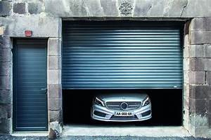portes de garage enroulables praticite et discretion With porte de garage enroulable et porte a carreaux