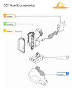 Dyson Ball Hardwood Floor Attachment by Diagram Of Dc24 Animal Diagram Get Free Image About