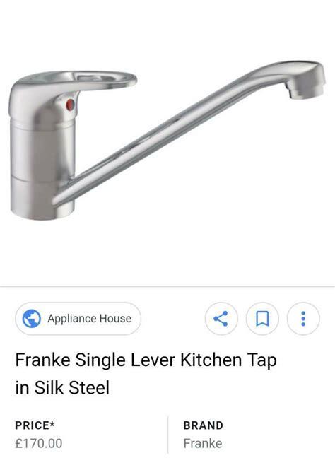 kitchen franke mixer tap brand ended ad
