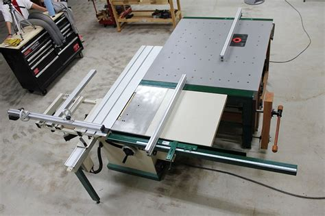 sliding table   awesome router table setup