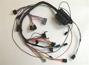 1963 63 Impala Under Dash Wiring Harness With Fusebox