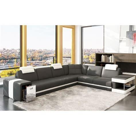 canapé d angle 7 places cuir canapé d 39 angle en cuir italien 6 7 places achat