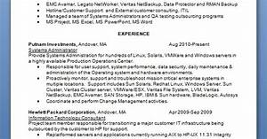 career objective for resume for experienced software engineers how to start a system administrator resume in word format