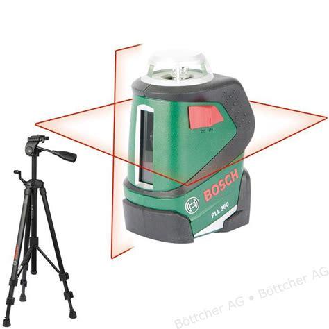 bosch linienlaser pll 360 bosch kreuzlinienlaser pll 360 selbstnivellierend roter 360 grad laser mit schutztasche und
