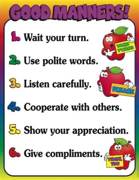 manners for kids clipart images gallery good manners pictures