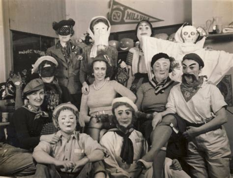 Pictures Of A Group Of College Students Having A Rowdy Halloween Party From The S Vintage