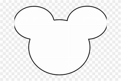 Mickey Mouse Head Outline Clipart Clip Transparent
