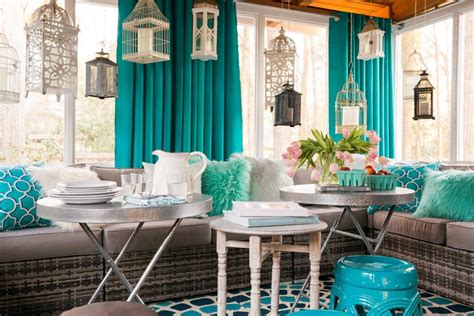 Screened Porch Decorating Ideas Pictures by Small Screened In Porch Decorating Ideas Hgtv