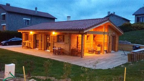 maison bois madrier kit ventana