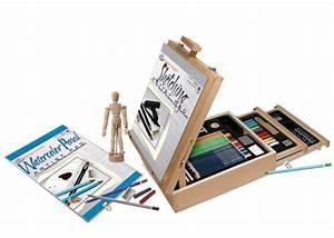 Polster Aufbewahrungsbox : 124 st ck k nstler skizzieren zeichnung staffelei box set ~ Pilothousefishingboats.com Haus und Dekorationen