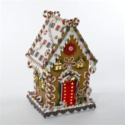 gingerbread house outdoor decorations