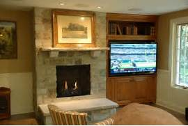 Excellent Fireplace Surround Ideas With Tv And Decorative Wood Picture Mantels Fireplace Mantles Marble Fireplaces Hearths Mantels Fireplace Mantels And Surrounds Ideas Fireplace Mantels Elegant Mantel Decor With Framed Arts Feat Rectangular Mirror And