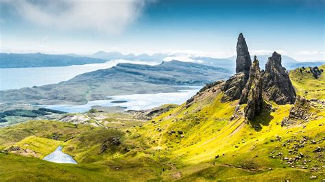 wallpaper isle of skye scotland europe nature travel
