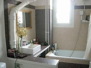 5 salle de bains apres travaux photo de avant apres 4 With travaux salle de bain prix