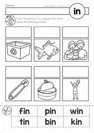 image result   words bin fin pin tin cvc word