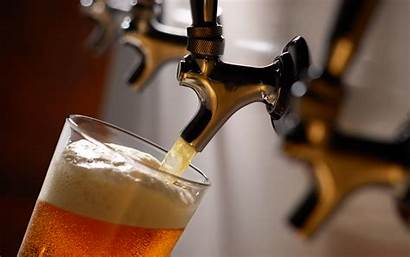 Bar Beer Tap Open Draft Pour Line