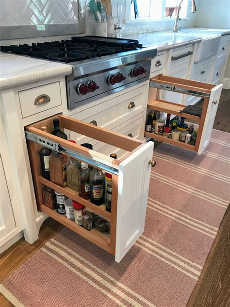 spice cabinets for kitchen new classic white kitchen renovation inspiration home 5648