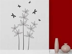 Pflanze Mit S : wandtattoo gr ser und str ucher bei gras silhouette wandtattoos ~ Orissabook.com Haus und Dekorationen