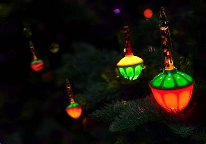 Lights Christmas Bubble Animated Tree Cinemagraphs Gifs