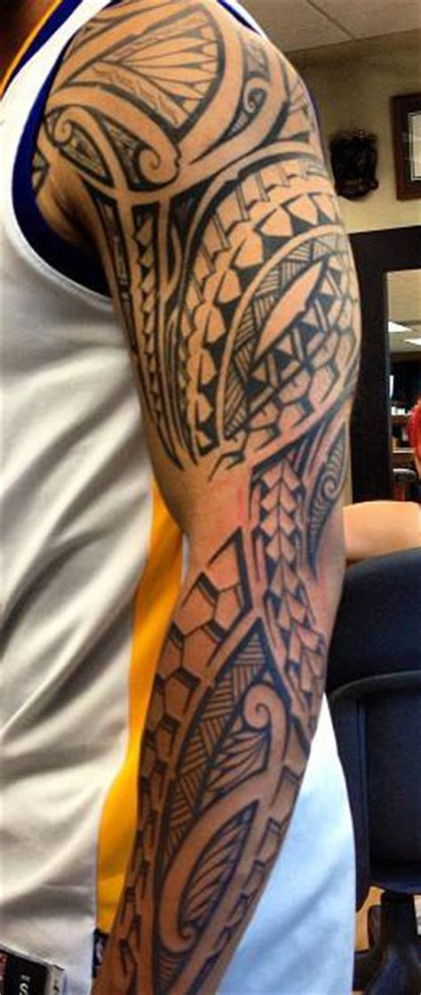Tatouage Tribal Tout Le Bras  Tattoo Boutique