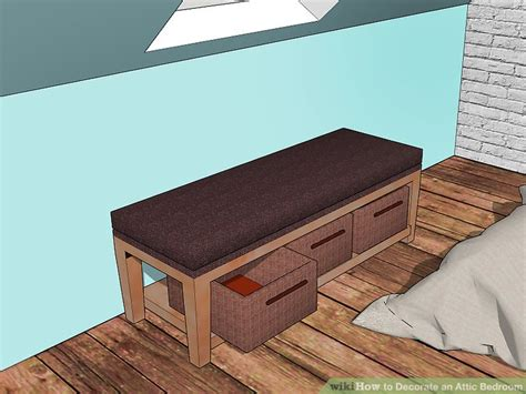 ways  decorate  attic bedroom wikihow