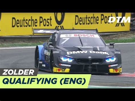 DTM Zolder 2019 - Qualifying Race 1 - RE-LIVE (English ...