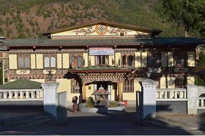 Handicrafts Bhutan Emporium Thimphu National Building Bhutanese