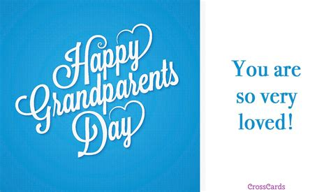 Free Happy Grandparents' Day (9/10) Ecard