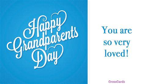 Free Happy Grandparents' Day (9/10) Ecard