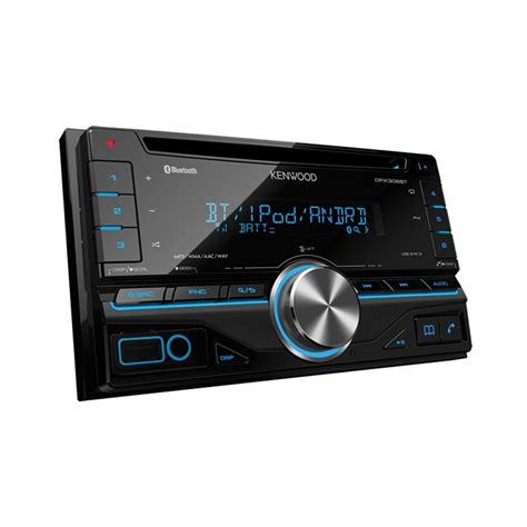 kenwood doppel din kenwood dpx 306bt din car stereo with built in blueto
