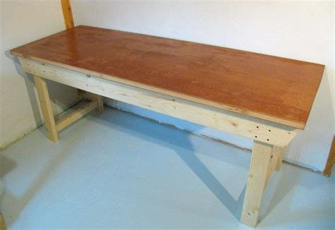 how to make a work table easy to build workbench