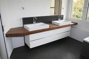Waschtisch Für Aufsatzwaschbecken Aus Holz : holzplatte f r badezimmer waschtisch seite 2 forum auf ~ Sanjose-hotels-ca.com Haus und Dekorationen