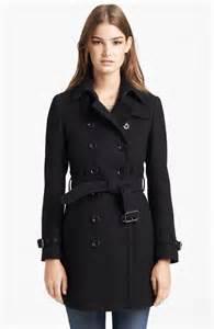 Burberry Wool Trench Coat Women