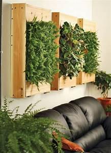 les 26 meilleures idees de la categorie mur vegetal sur With attractive idee de decoration de jardin exterieur 0 un jardin vertical en palettes joli place