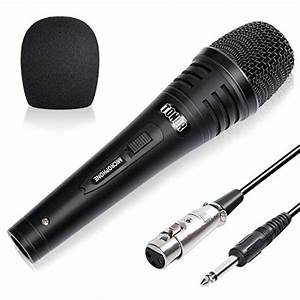 Tonor Pro Vocal Dynamic Microphone With Xlr Cable Male