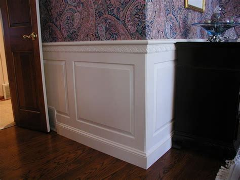 New Wainscoting by New Raised Panel Wainscoting Paristriptips Design
