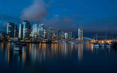 Vancouver Dusk Wallpapers  Hd Wallpapers  Id #504