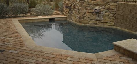 travertine pool decks glendale az landscaping desert