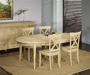 Table 16 Personnes : table ovale 170 110 en ch ne massif de style louis philippe 5 allonges de 40 cm finition ch ne ~ Teatrodelosmanantiales.com Idées de Décoration