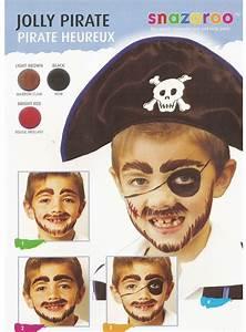 Maquillage Halloween Garçon : maquillage garcon pirate heureux carnaval maquillage enfant pinterest pirates ~ Melissatoandfro.com Idées de Décoration