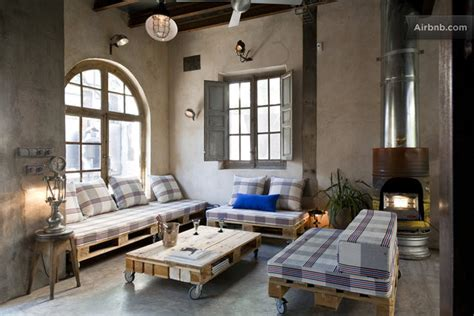 living room apartment industrial chic apartment with an inviting appeal decoholic Industrial