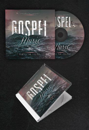 gospel   cd cover psd template  elegantflyer