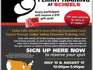 Concealed Firearm Permit Training Courses | Cedar Falls ...