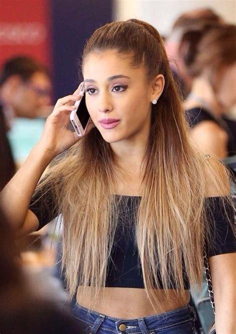 Celebrity Hairstyles: Ariana Grande Hairstyles 2015 Sharp