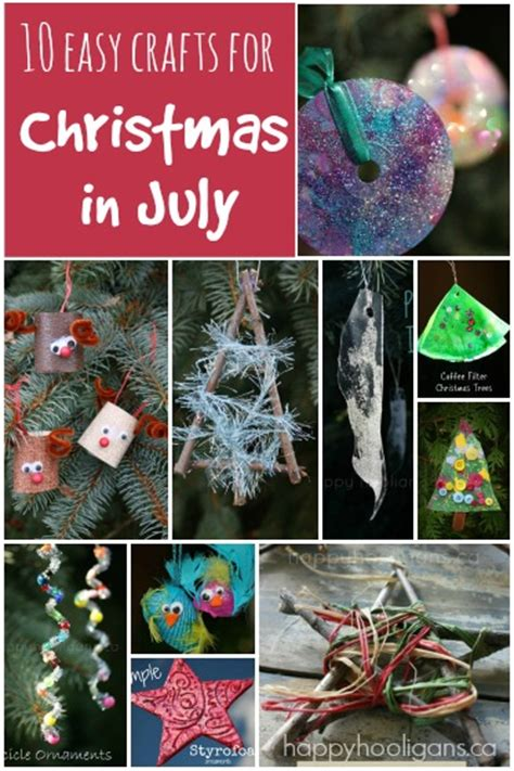 christmas in july crafts in july crafts happy hooligans