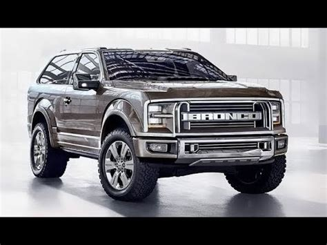 ford bronco truck suv expected prices release date