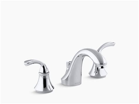 fort 233 sculpted widespread commercial bathroom sink faucet
